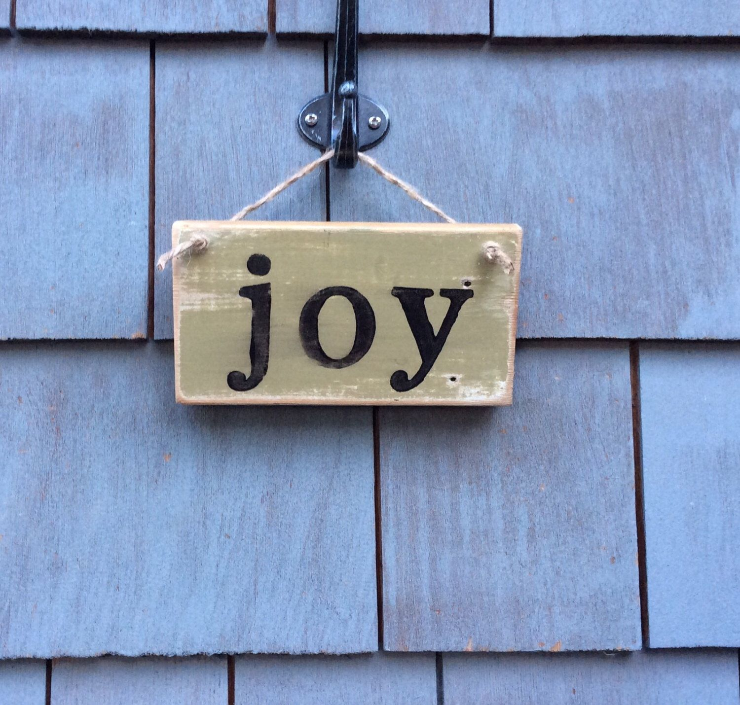 Rustic Joy Sign by HomesteadDesign on Etsy https://www.etsy.com/listing/232288944/rustic-joy-sign