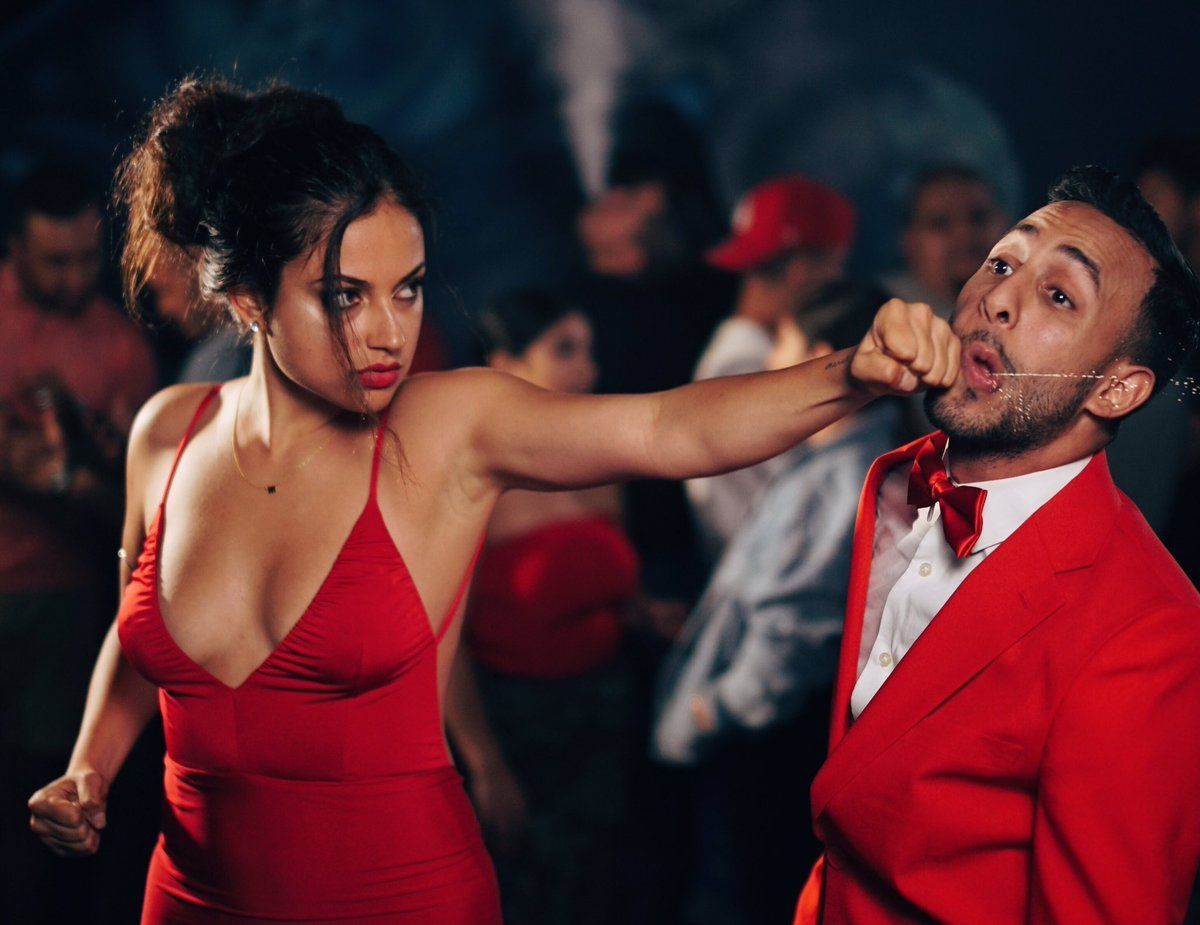 Image Result For Inanna Sarkis Red Dress Red Dress Dress Making