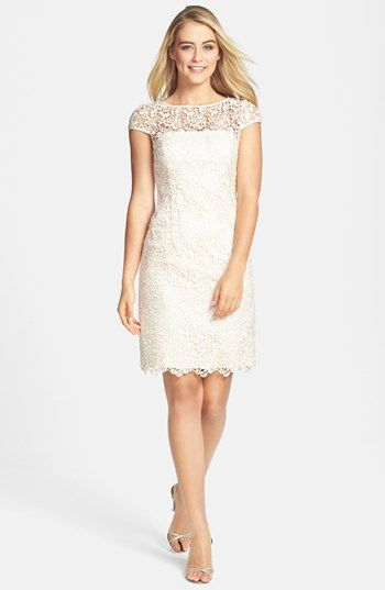 Adrianna Papell Lace Shift Dress available at #Nordstrom | Moda ...