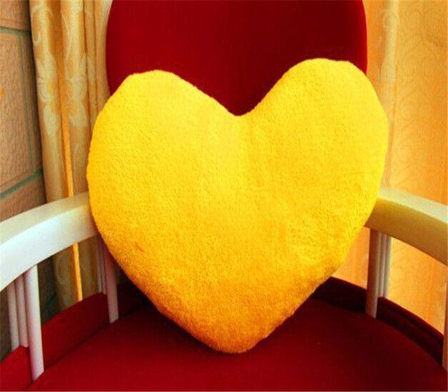 creative cute heart shape wedding gift decorative pillows Stuffed Plush Coussin cojines decorativos funda sofa car home decor