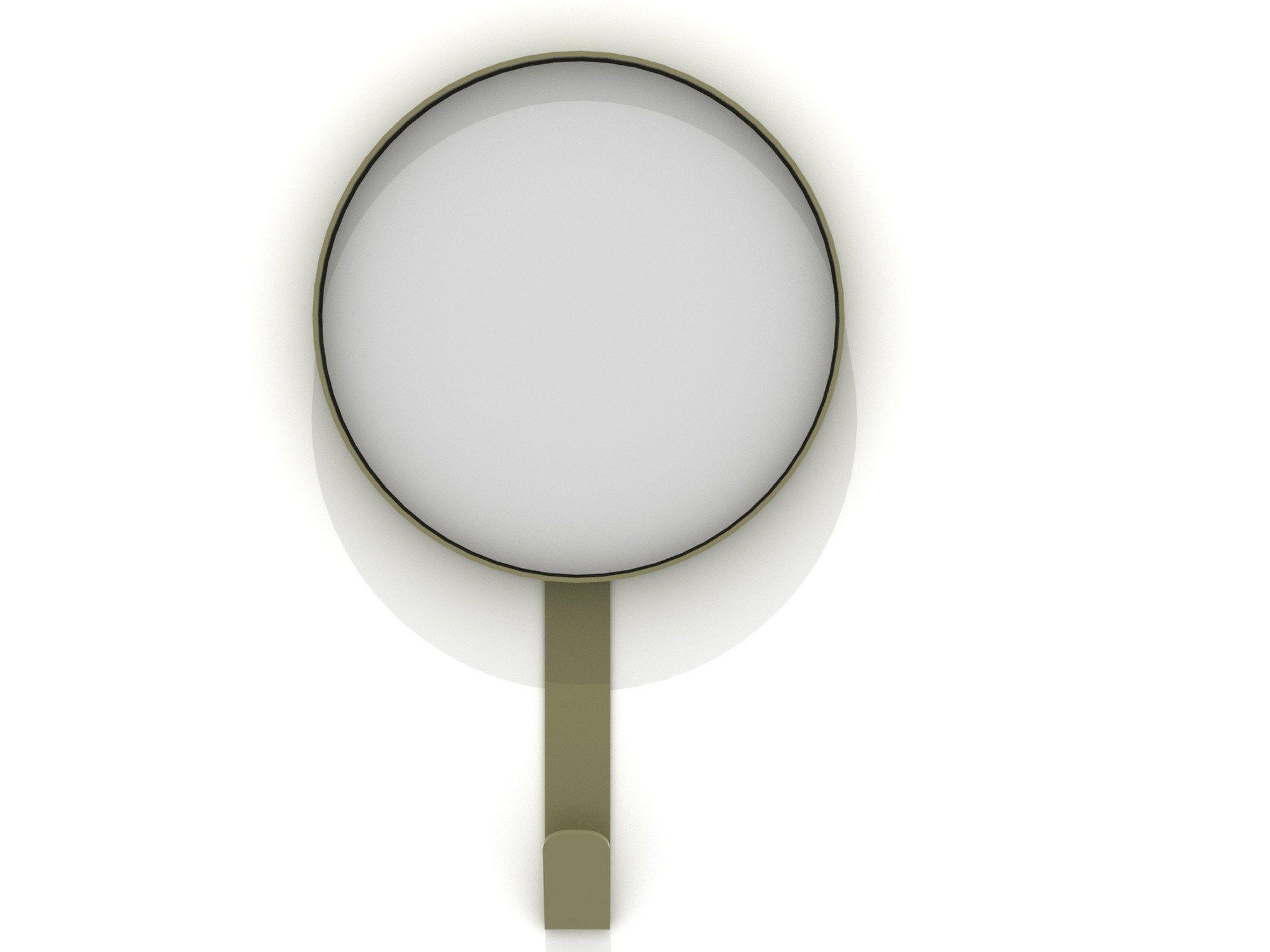 Specchio rotondo a parete hook by universo positivo design
