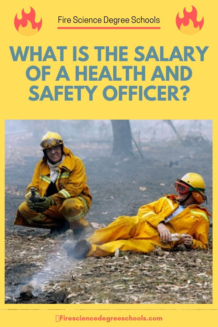 What Is The Salary Of A Health And Safety Officer