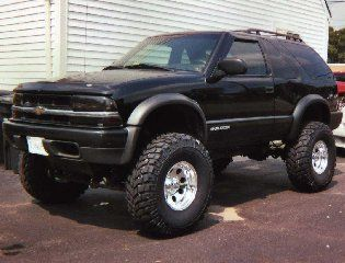 lifted 4x4 | Now I think that looks dumb, I want my blazer to eventually look like ...