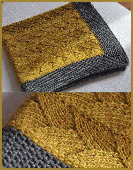 Brickstreet Blanket – Knitting Pattern – blankets