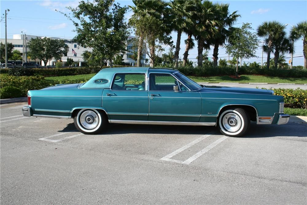 1979 Lincoln Continental Town Car With Images Classic Cars Usa