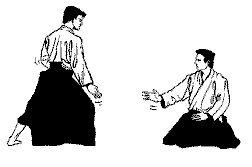 hanmi - hantachi waza | aikido positions | Fictional