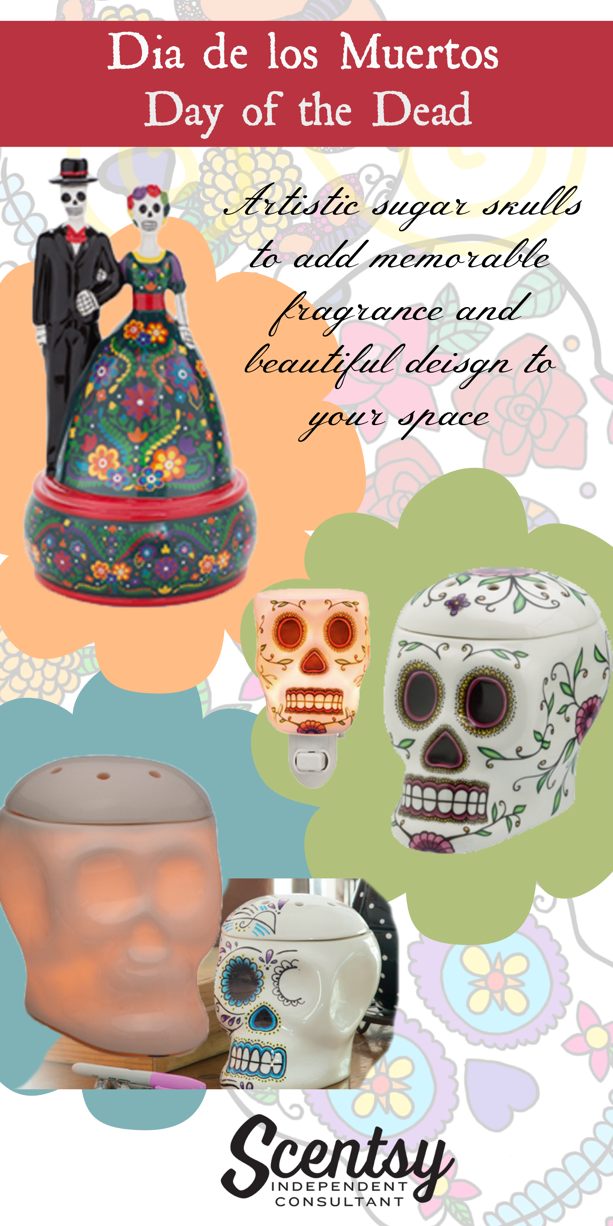 Sugar Skull Scentsy Warmers Online Scentsy, Scentsy
