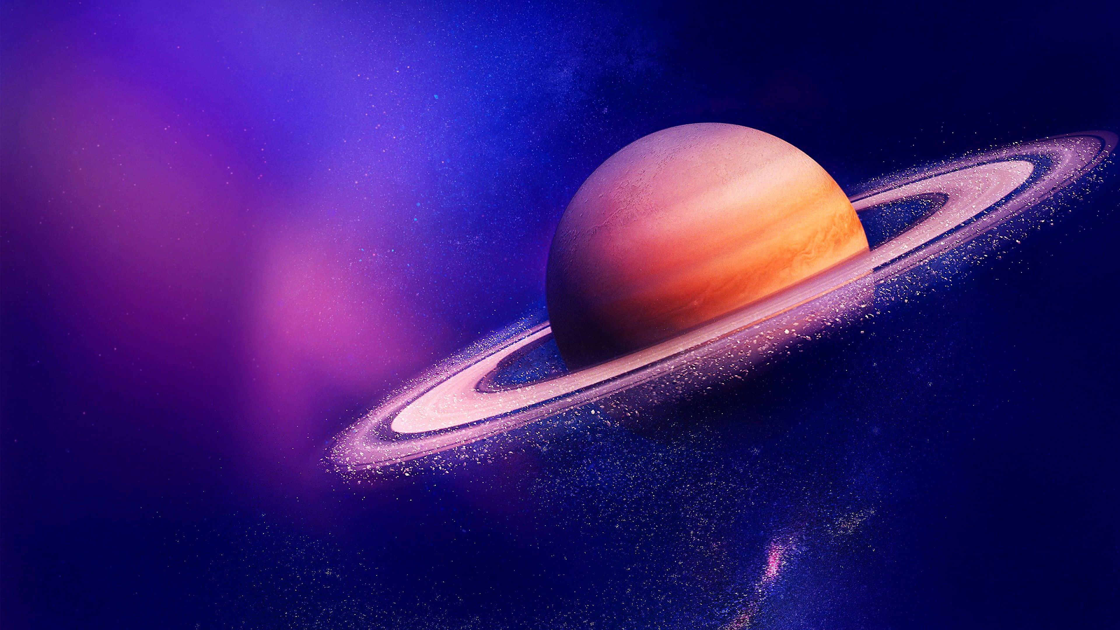 saturn #planet ringed planet planetary ring space art #space #dust ...