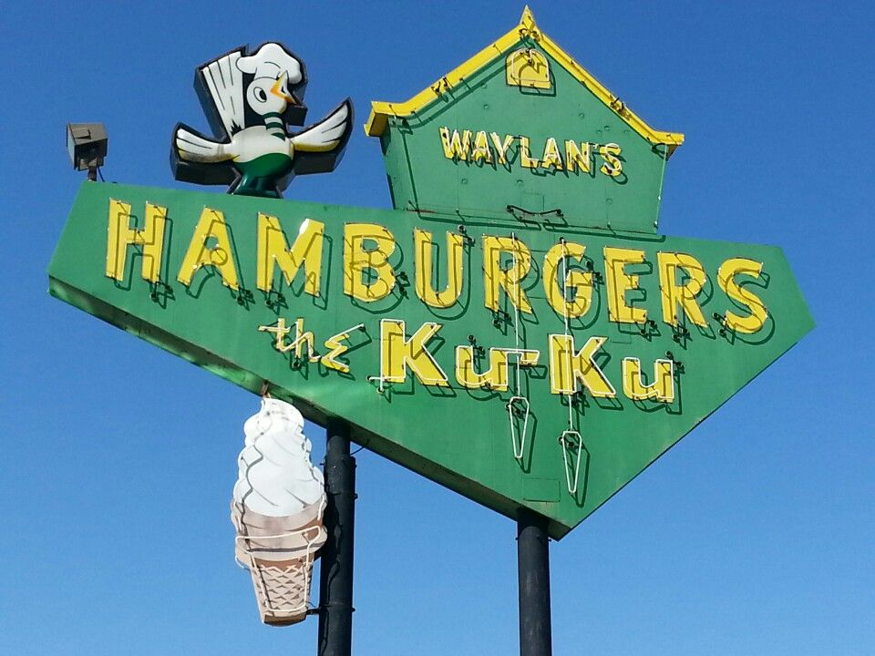 Miami Ok Route 66 Waylans Ku Ku Burgers In Miami Ok Travelok