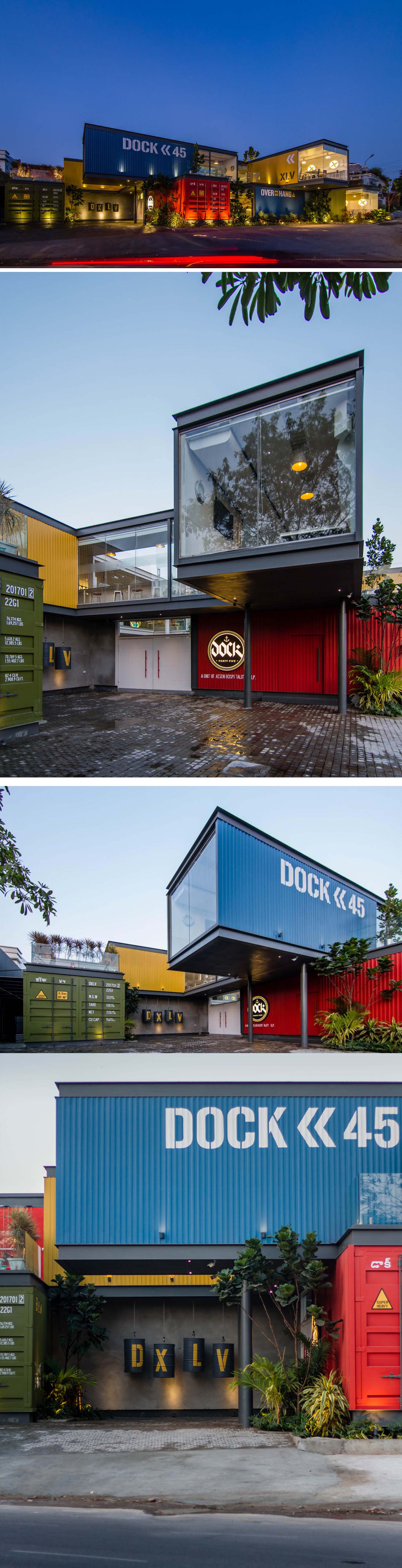 Container Restaurant Dock 45 Spacefiction studio The