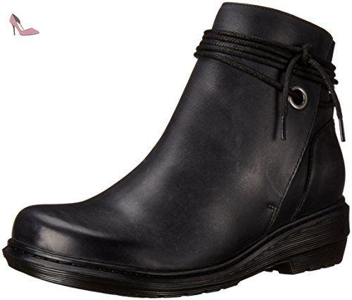 7140a685670b66 Dr. Martens SHELBY Oily Illusion BLACK, Chaussures bateau femme - Noir -  Noir,