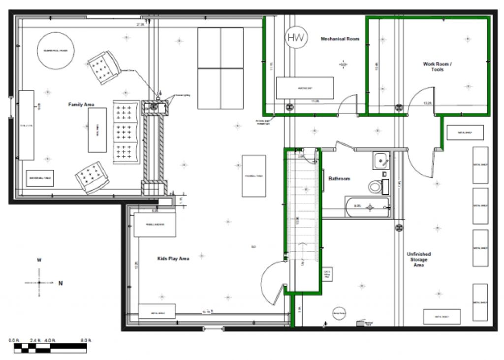 Best Of Finished Basement Plans