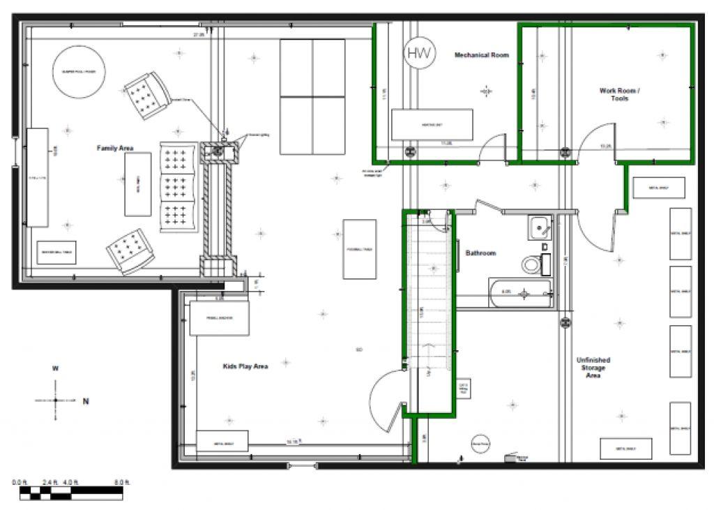 Image For Design Basement Layout Basement Floor Plans Basement