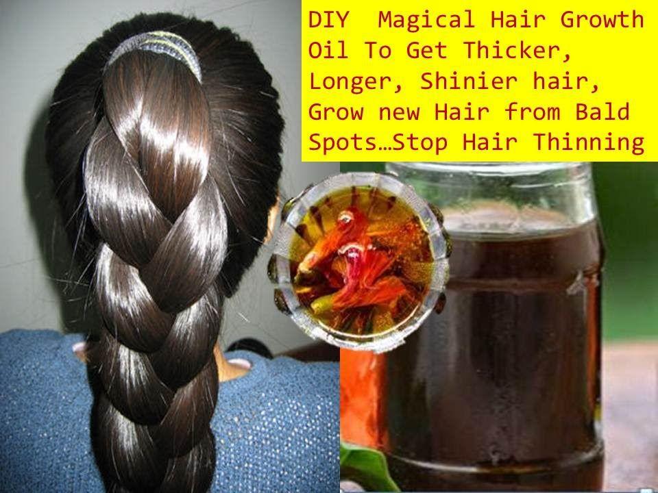 Homemade Herbal Hair Oil For Faster Hair Growth Grow Hair 1 Inch