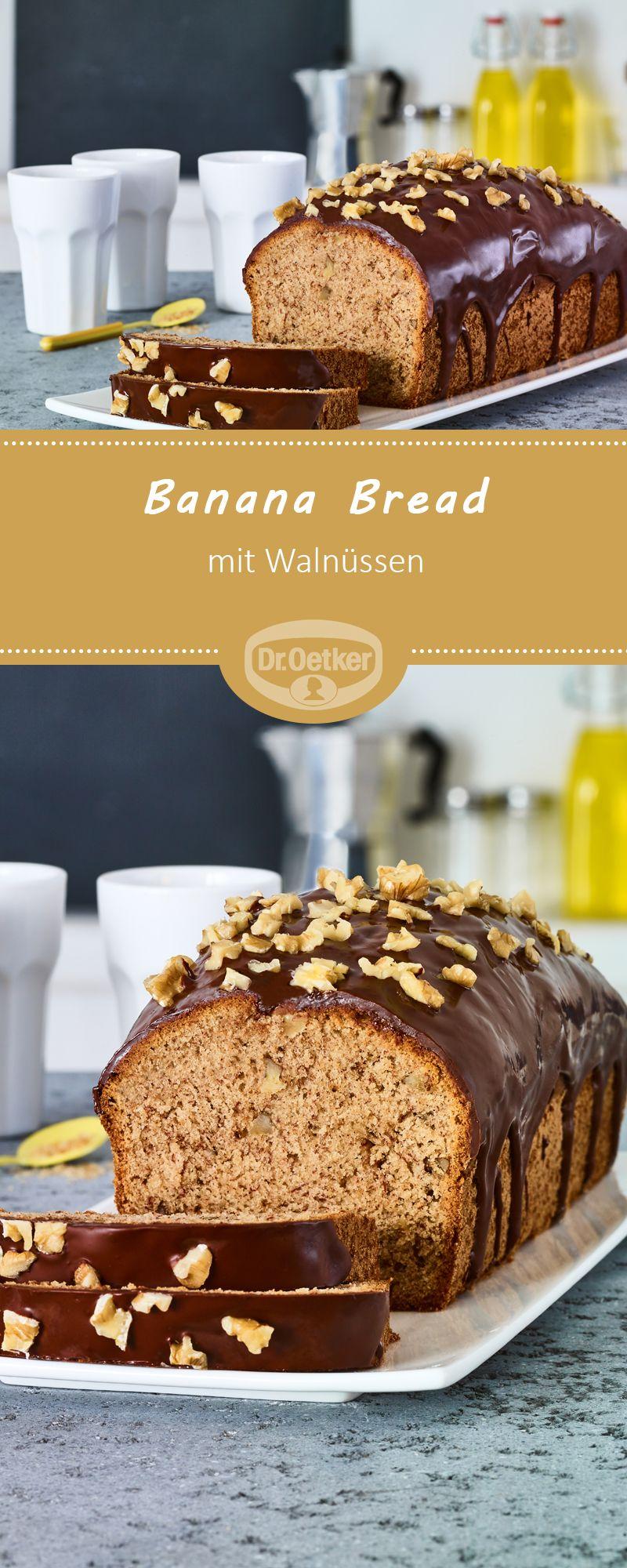 Banana Bread Mit Walnussen Rezept In 2019 Nusse In Allen