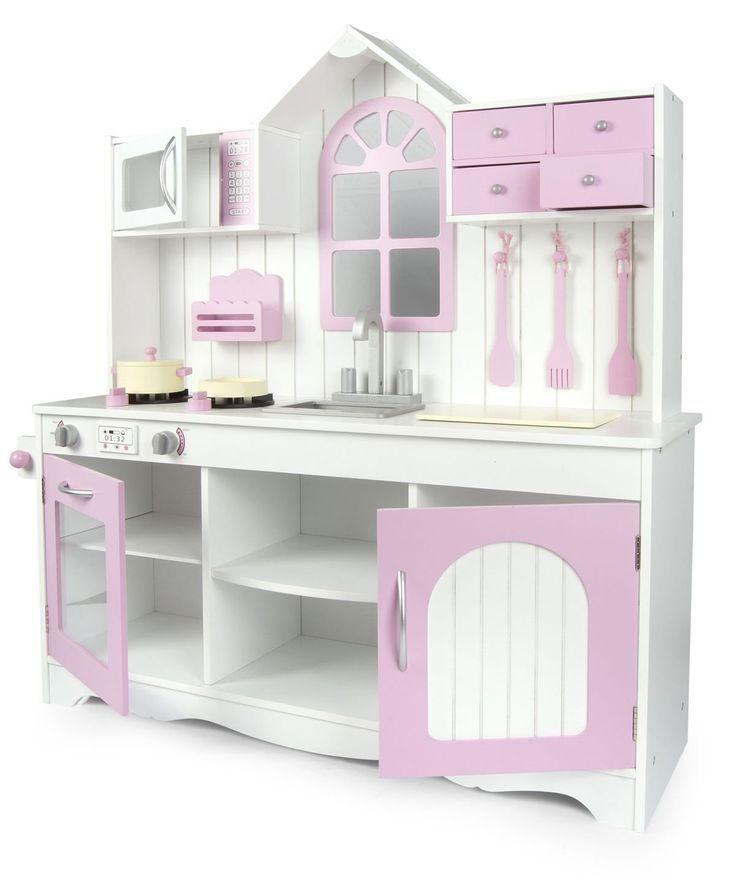 Royal pink Kitchen Kinderküche aus Holz Royal Rosa. Unsere ...