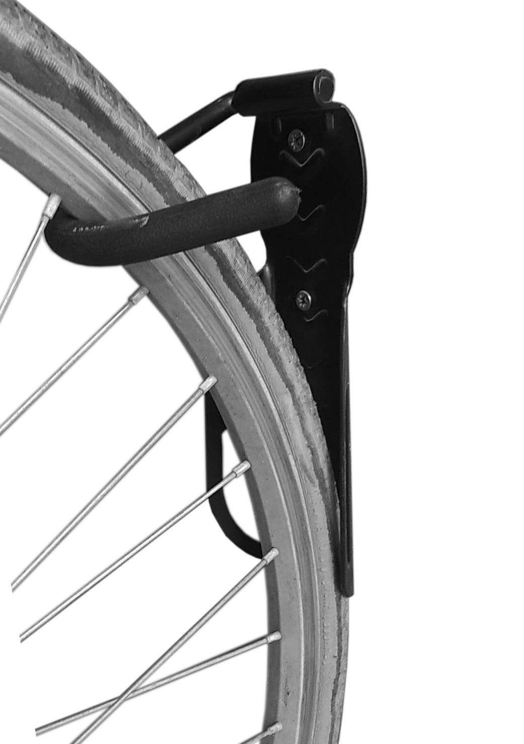 2pcs bike rack garage wall mount bike hanger storage