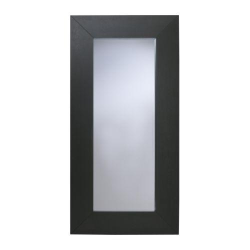 mongstad espejo negro marr n 94 x 190 cm decoracion y