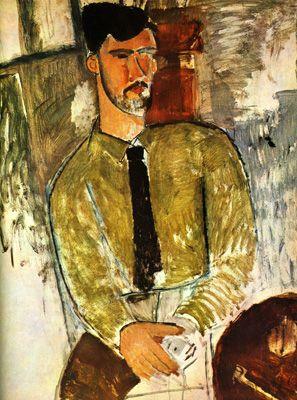 Henri Laurens sentado- Modigliani