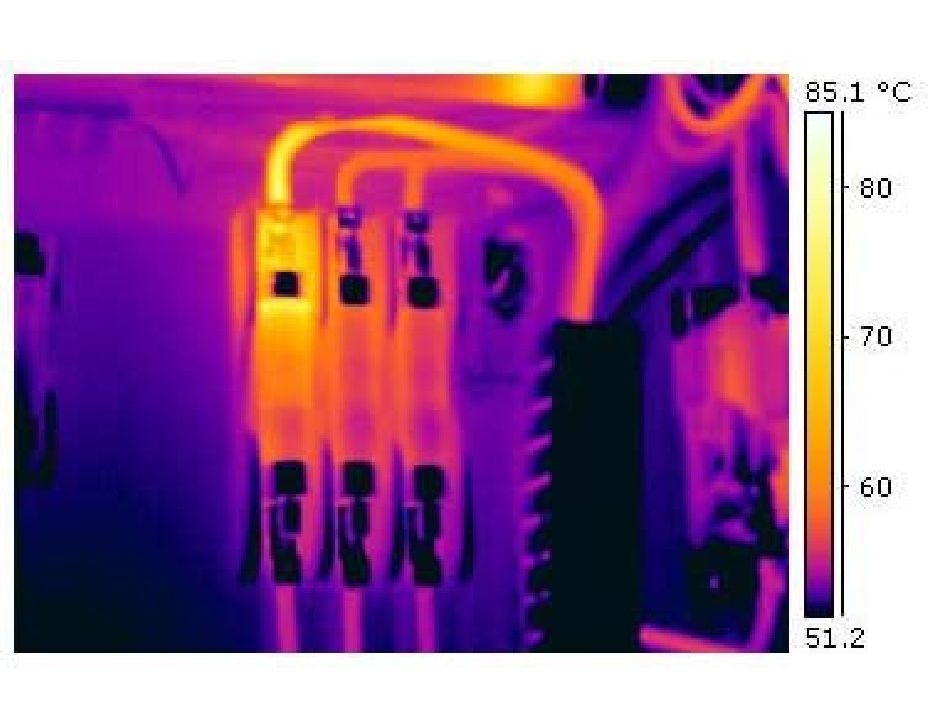 Thermal detection equipment is very effective in detecting