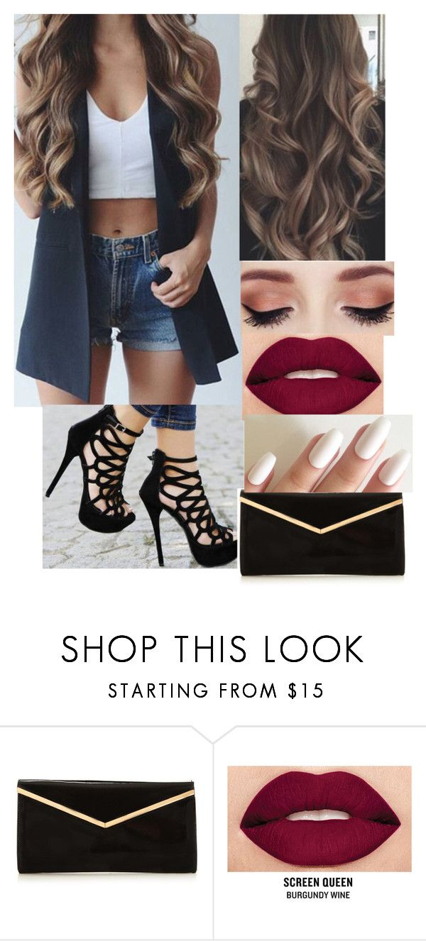 """""""Sans titre #1347"""" by rachkinou ❤ liked on Polyvore featuring Masquerade and Smashbox"""