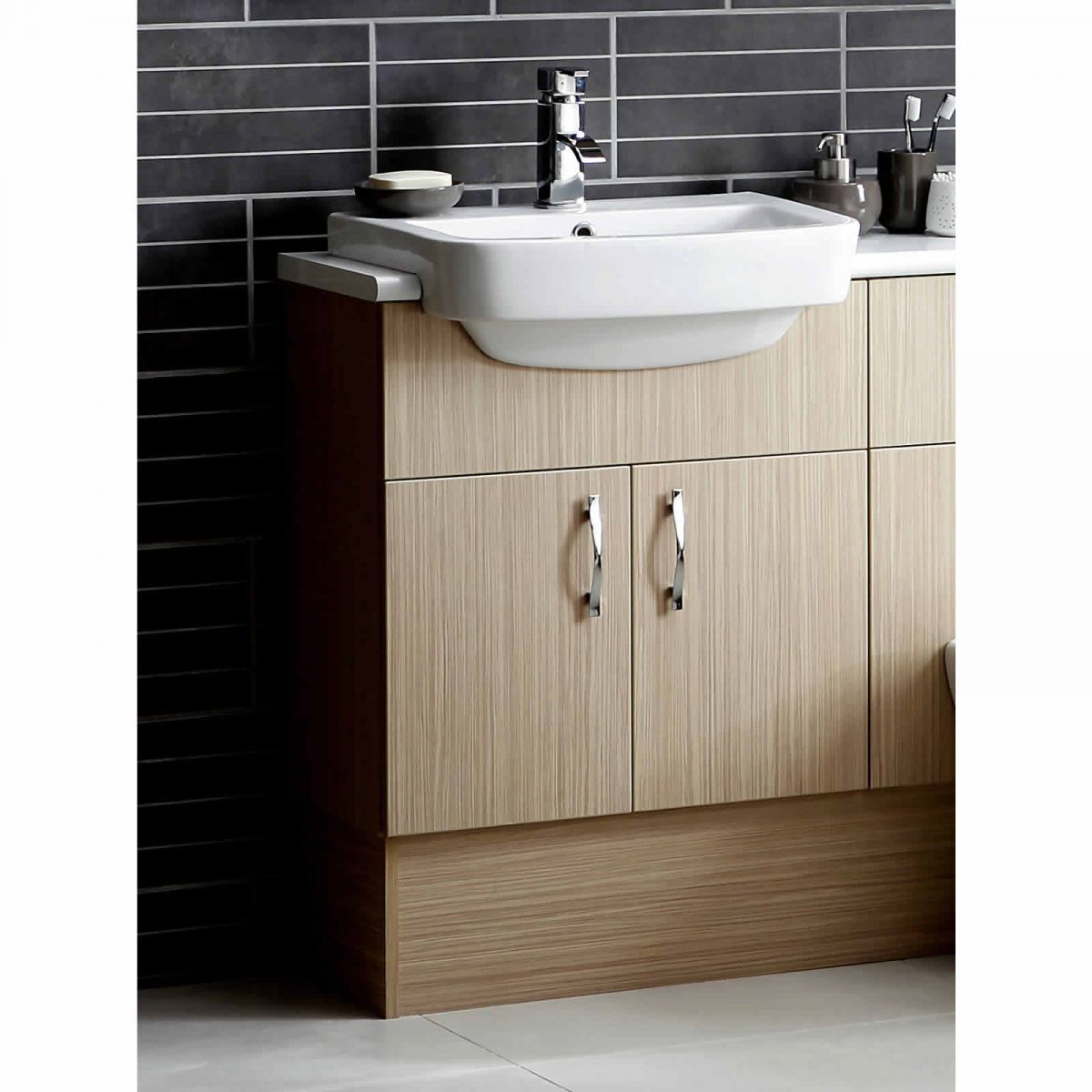 Le Dueto Slimline Washbasin Unit
