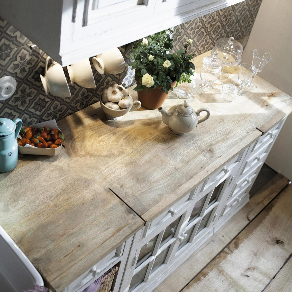 glazed wall cabinet 70 cm eleonore kitchens pinterest. Black Bedroom Furniture Sets. Home Design Ideas