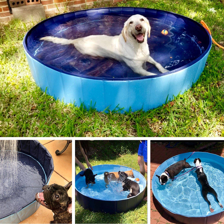 Kopeks Outdoor Dog Swimming Pool Grey