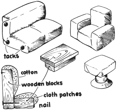 doll furniture recycled materials. Make A Classroom Miniature House To Promote Safe Environment And Throughout The Year Have Kids Fill In Furniture Decorate It-- Could Be Used Doll Recycled Materials B