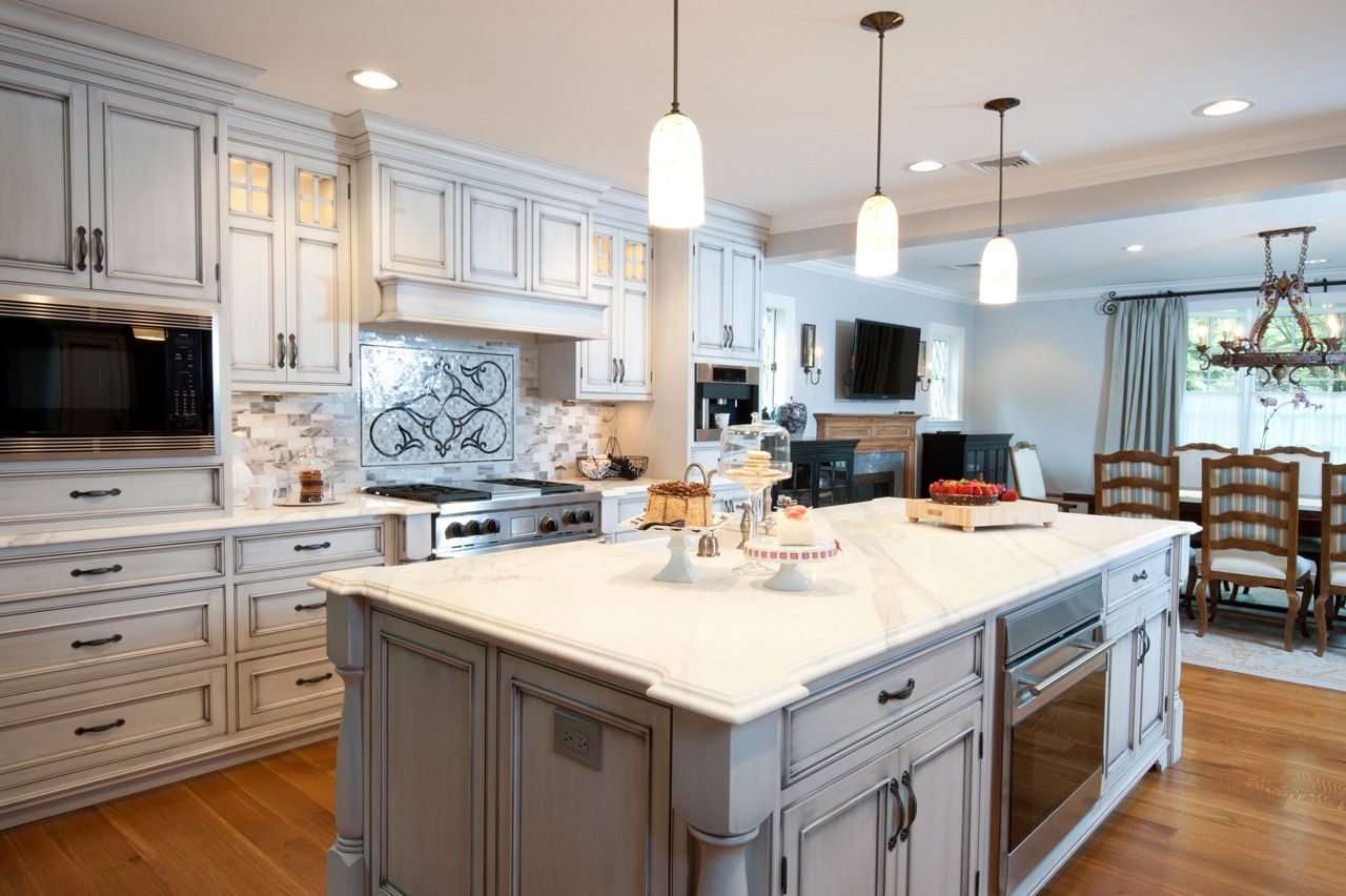 Kitchen Designs By Ken Kelly Designed These Custom Kitchen Cabinets For A New  York Home In