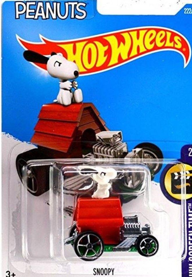 9c97f9fa27 Snoopy Dog House Hot Wheels Car Charlie Brown Peanuts Movie Toy ...