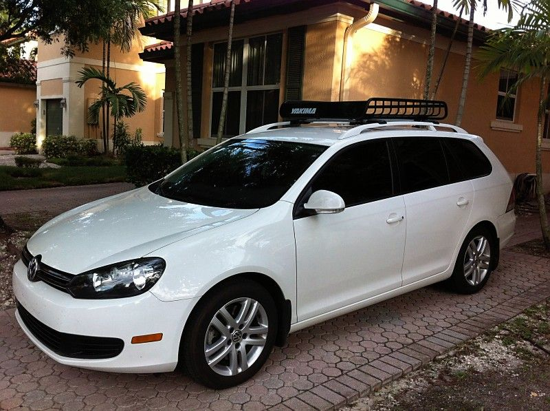 Vwvortex Com Pro Rack Whispbar Installation On A Sportwagen