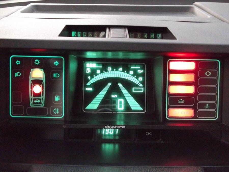 Tableau De Bord De La Citroen Bx Serie Speciale Digit Voiture Citroen Voiture Break Voiture