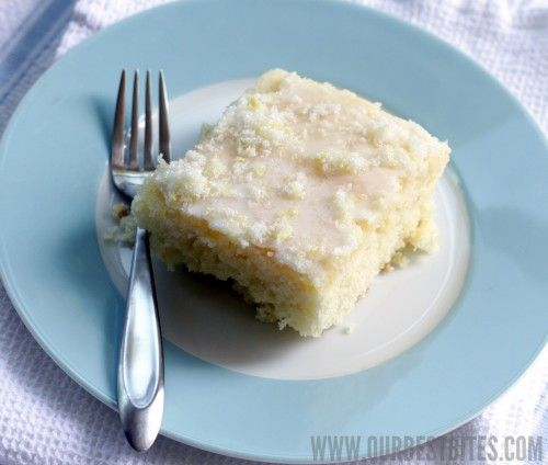 Lemon Buttermilk Sheet Cake- So good!!