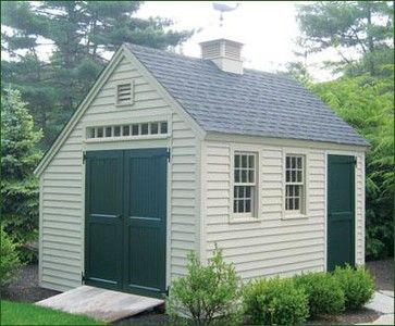 10 X 14 Vineyard Overhang Modern Sheds Other Metro Walpole Outdoors Building A Shed Outdoor Sheds Rustic Shed
