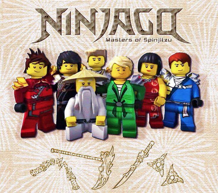 Lego ninjago kai cole zane lloyd nya jay and sensei - Ninjago kai jay zane cole lloyd ...