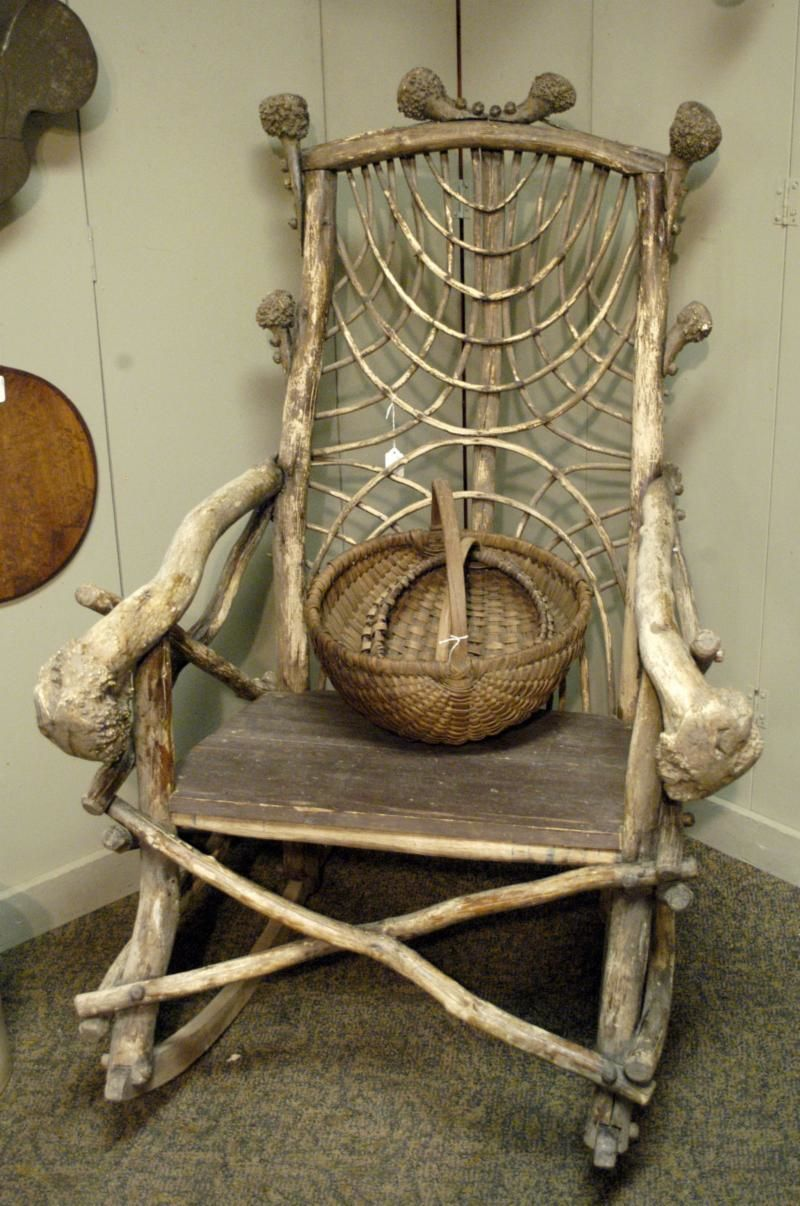 Katona And Lutz Sale Weird Halloween Type Chair Antiques Weekly
