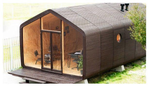 Fine The Wikkelhouse Or Wrap House By Fiction Factory 1 100 Home Interior And Landscaping Sapresignezvosmurscom