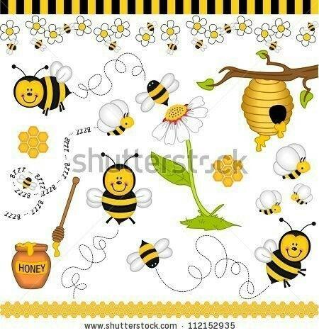 infantiles dibujos pintura imgenes libres de derechos artesanas de abejas collage digital progreso personal colmenas de abejas anfibios