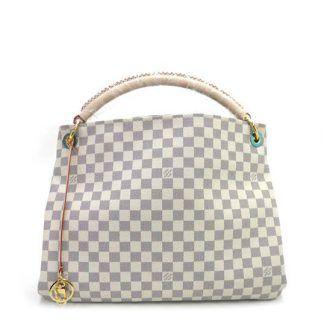 fb9e0aa86538 Replica Louis Vuitton Damier Artsy N41174 White  6874