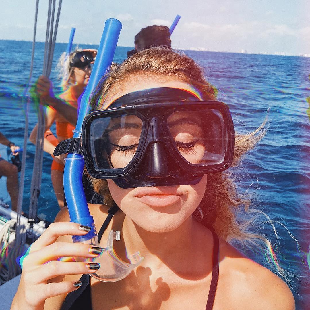snorkel summer Snorkeling pictures, Scuba girl, Beach