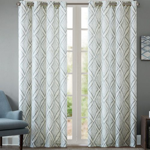 Found it at Joss & Main - Trellis Grommet Curtain Panel | Textiles ...