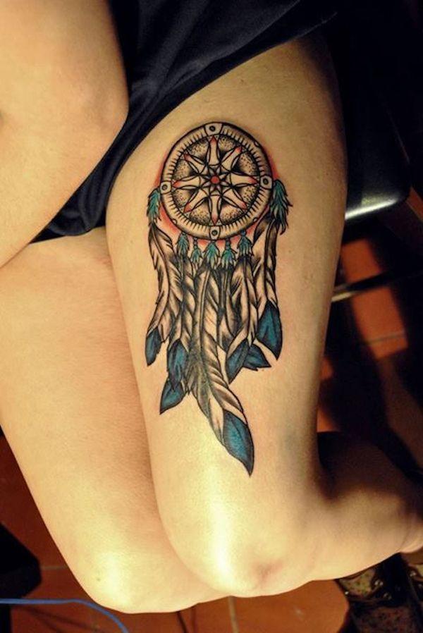 Significado da Tatuagem Filtro dos Sonhos | Dream catcher ...