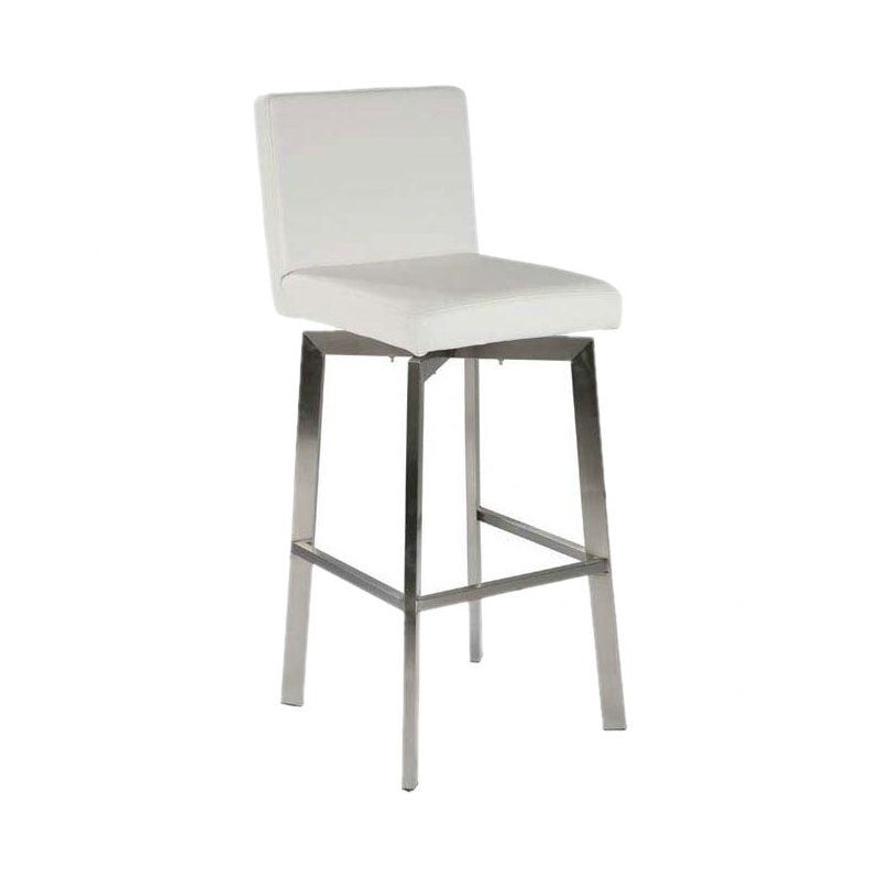 Default Name White Counter Stools Steel Bar Stools Moe S Home Collection