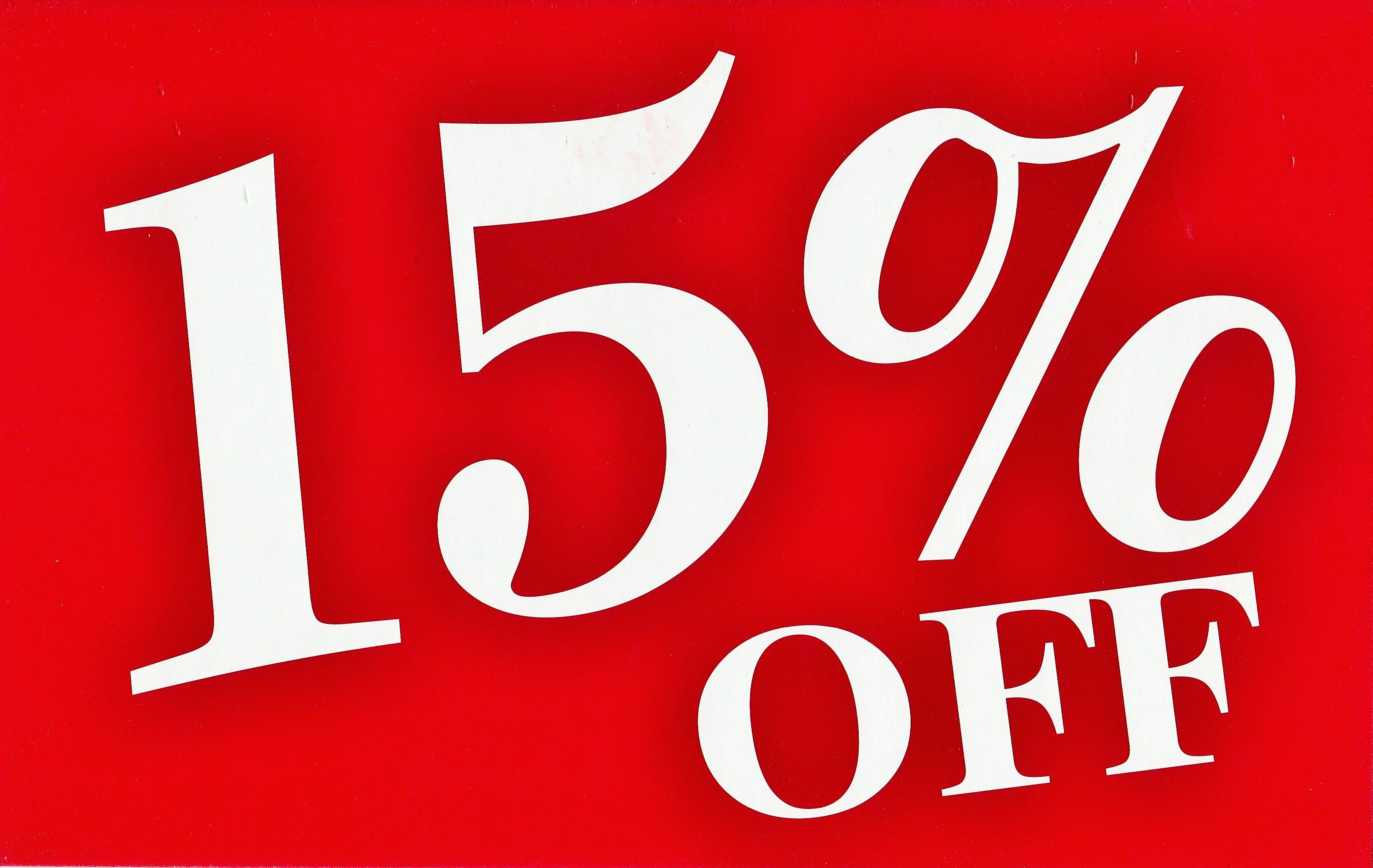 Use the coupon code PIN15 and receive 15 off savings on