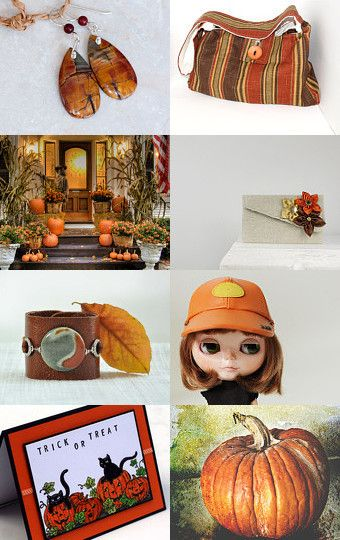 Colors of Fall by classabags on Etsy--Pinned with TreasuryPin.com