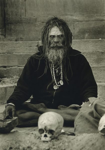 The Aghori or Aghora are a Hindu sect believed to have split off from the Kapalika order (which dates from 1000 AD) in the fourteenth century AD. Many mainstream Hindus condemn them as non-Hindu because of their taboo violation of orthodox practices. Aghoris or Aughads command extreme reverence from rural populations as they are supposed to possess powers to heal and relieve pain gained due to their intense practices. Aghori are denizens of the charnel ground.