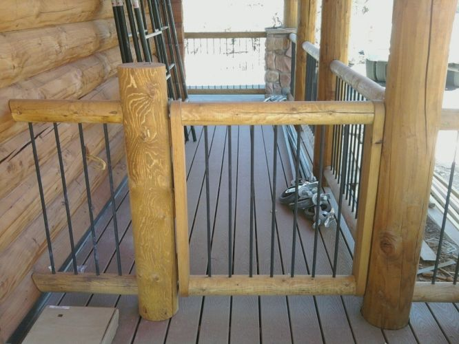 Deck Railings on Pinterest | Iron Railings, Deck Railings ...