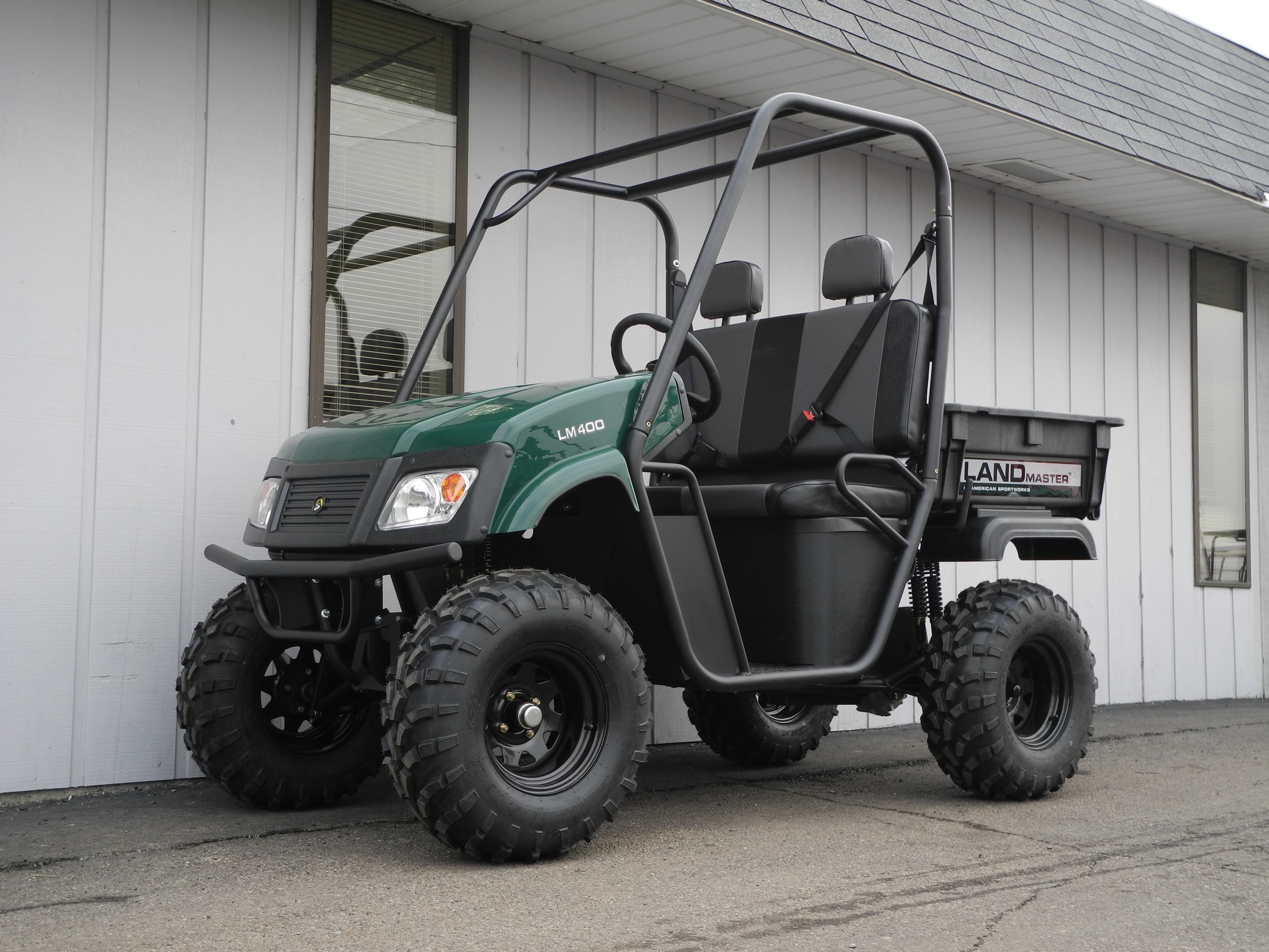 This American-made Landmaster LM400 side-by-side UTV from American
