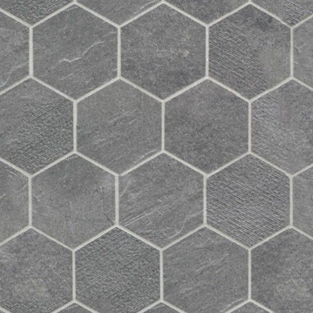 0029 stone paving outdoor hexagonal texture seamless hr for Exterior floor tiles texture